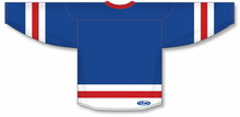 Load image into Gallery viewer, Royal, White, Red League Blank Hockey Jerseys