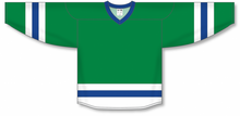 Load image into Gallery viewer, Kelly, White, Royal League Blank Hockey Jerseys