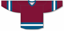 Load image into Gallery viewer, Cardinal, Capital, White League Blank Hockey Jerseys