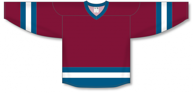 Cardinal, Capital, White League Blank Hockey Jerseys
