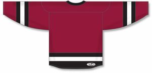 Av Red, Black, White League Blank Hockey Jerseys