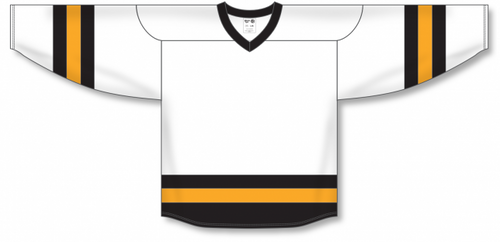 Grey, Black, White League Blank Hockey Jerseys