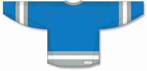 Pro Blue, Grey, White League Blank Hockey Jerseys