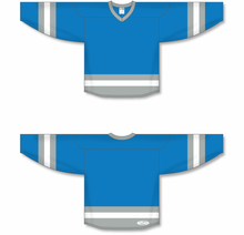 Load image into Gallery viewer, Pro Blue, Grey, White League Blank Hockey Jerseys