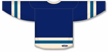 Load image into Gallery viewer, Navy, Sand, Capital League Blank Hockey Jerseys