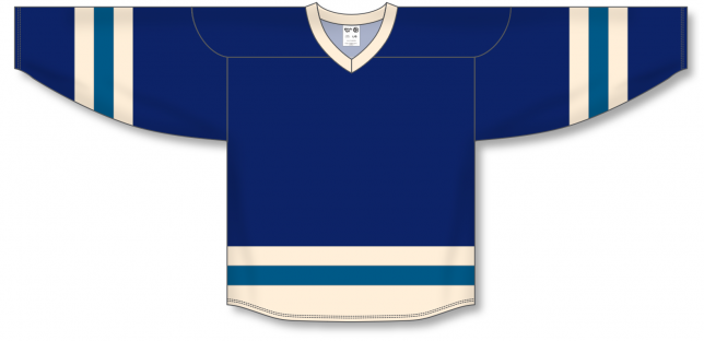 Navy, Sand, Capital League Blank Hockey Jerseys
