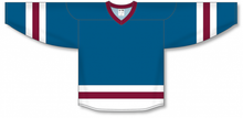 Load image into Gallery viewer, Capital, White, Cardinal League Blank Hockey Jerseys