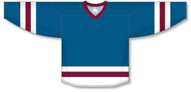 Capital, White, Cardinal League Blank Hockey Jerseys