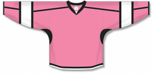 Load image into Gallery viewer, Pink, Black, White Select Blank Hockey Jerseys