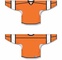 Load image into Gallery viewer, Orange, White, Black Select Blank Hockey Jerseys