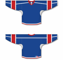 Load image into Gallery viewer, Royal, White, Red Durastar Mesh Select Hockey Jerseys