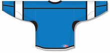 Load image into Gallery viewer, Pro Blue, Black, White Durastar Mesh Select Blank Hockey Jerseys