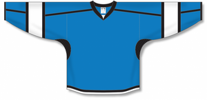 Pro Blue, Black, White Durastar Mesh Select Blank Hockey Jerseys