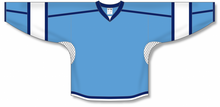 Load image into Gallery viewer, Sky, White, Navy Durastar Mesh Select Blank Hockey Jerseys