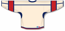 Load image into Gallery viewer, Sand, Navy, Red Durastar Mesh Select Blank Hockey Jerseys