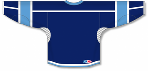 Navy, White, Sky Durastar Mesh Select Blank Hockey Jerseys