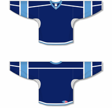 Load image into Gallery viewer, Navy, White, Sky Durastar Mesh Select Blank Hockey Jerseys
