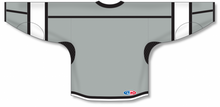 Load image into Gallery viewer, Grey, Black, White Durastar Mesh Select Blank Hockey Jerseys
