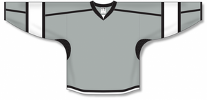 Grey, Black, White Durastar Mesh Select Blank Hockey Jerseys