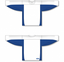 Load image into Gallery viewer, White, Royal League Blank Hockey Jerseys