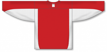 Load image into Gallery viewer, Red, White League Blank Hockey Jerseys