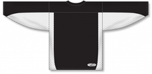 Load image into Gallery viewer, Black, White Durastar Mesh League Blank Hockey Jerseys