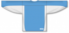 Load image into Gallery viewer, Sky, White Durastar Mesh League Blank Hockey Jerseys