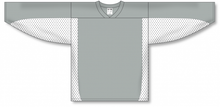 Load image into Gallery viewer, Grey, White League Blank Hockey Jerseys