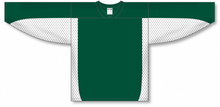 Load image into Gallery viewer, Dark Green, White League Blank Hockey Jerseys