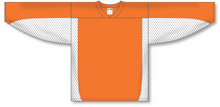Load image into Gallery viewer, Orange, White League Blank Hockey Jerseys