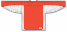 Load image into Gallery viewer, Burnt Orange, White League Hockey Jersey