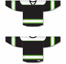 Load image into Gallery viewer, Lime Green Select Blank Hockey Jerseys