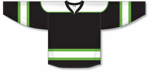 Lime Green Select Blank Hockey Jerseys