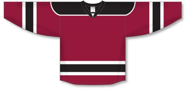 Cardinal, Capital, White Select Blank Hockey Jerseys