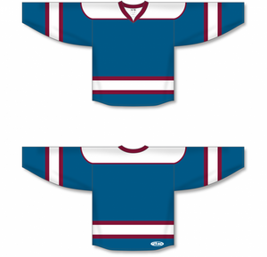 Capital, White, Cardinal Select Blank Hockey Jerseys