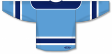 Load image into Gallery viewer, Sky, Navy, White Select Blank Hockey Jerseys