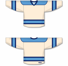 Load image into Gallery viewer, Sand, Sky, Navy Select Blank Hockey Jerseys