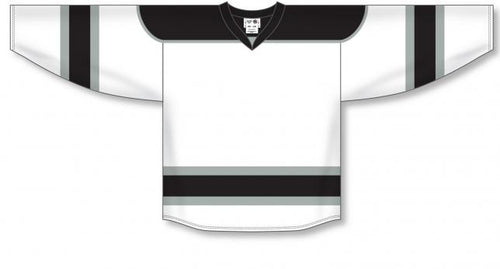 White, Black, Grey Select Blank Hockey Jerseys