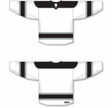 Load image into Gallery viewer, White, Black, Grey Select Blank Hockey Jerseys