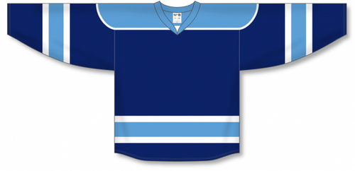 Navy, Sky, White Select Blank Hockey Jerseys