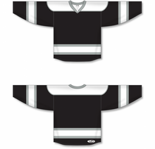 Load image into Gallery viewer, Black, White, Grey Select Blank Hockey Jerseys