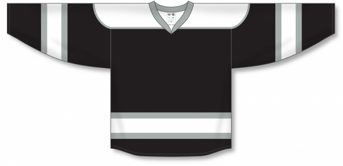 Black, White, Grey Select Blank Hockey Jerseys