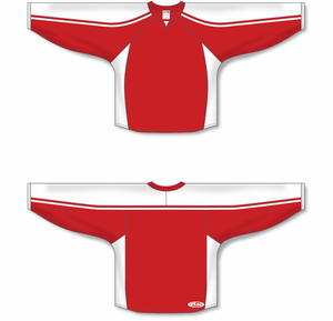 Red, White Select Blank Hockey Jerseys