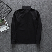 Load image into Gallery viewer, Long Sleeve Black JK Uniform Shirt