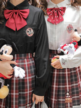 "Load image into Gallery viewer, ""MINNIE N MICKEY"" JK UNIFORM SHIRTS"