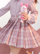 "Load image into Gallery viewer, ""PIGLET"" JK UNIFORM SKIRTS"