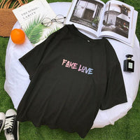 FAKE LOVE Kpop T-Shirt - Mochipan