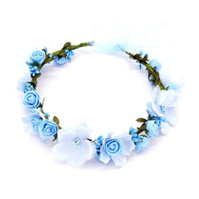 Load image into Gallery viewer, Bohemian Style Flower Crown-Mochipan