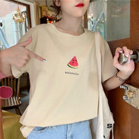 Simplistic Fruits T-Shirt - Mochipan