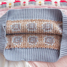 Load image into Gallery viewer, Pastel Cute Winter Pullover-Mochipan